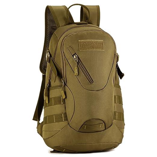 redmid 20L táctico mochila Asalto Mochila Militar mochila Casual daypacks para caza, Marrón (Coyote Brown): Amazon.es: Deportes y aire libre