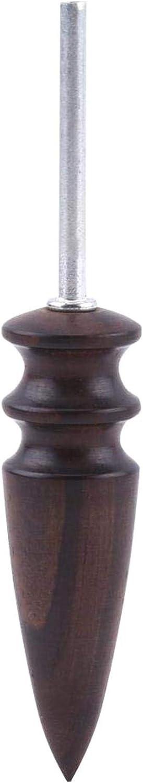 Brunissoir pour Cuir Percer la Pointe Dremel avec Une Pointe en Cuir Perceuse polie luisante P * L TINGB Outil de Maroquinerie