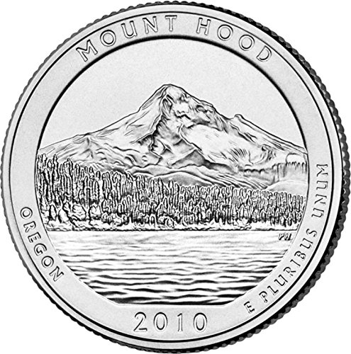 2010 D Mount Hood National Park – D 40 Coin Bankroll Uncirculated
