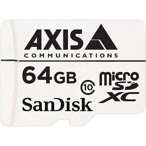 Axis Surveillance Card Memoria Flash 64 GB MicroSDXC Clase ...