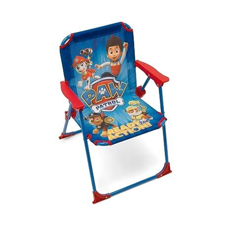 ARDITEX PW9506 - Silla Plegable para niños, diseño de La Patrulla Canina, Tela, 38 x 32 x 53 cm