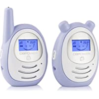 DBPOWER Digital Audio Baby Monitor with Temprature Sensor, Two-way and Talk-back Intercom System, up to 1,000ft Extended Range, Always Connected to Your Baby