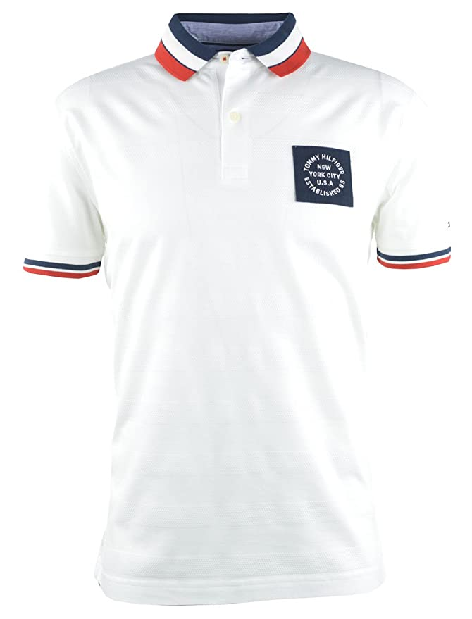 Tommy Hilfiger 13273_83786 - MIX TEXTURE REGULAR POLO TOMMY Hombre ...