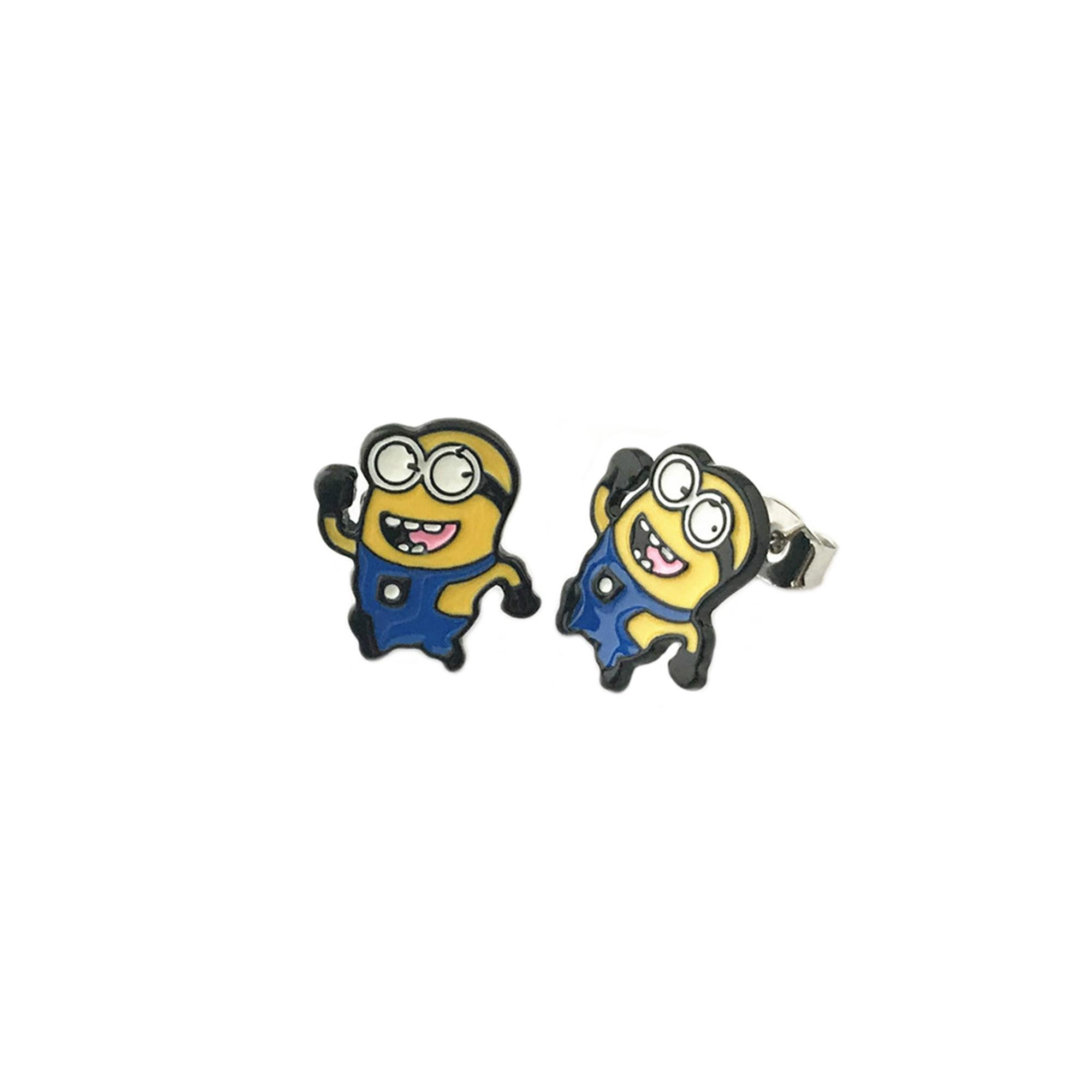Despicable Me Minions Post Earrings w/Gift Box By Superheroes