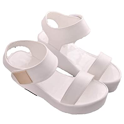 6f5ee143fd2 Image Unavailable. Image not available for. Color  2018 New Gladiator Women  Shoes Roman Sandals Shoes Women Sandals peep-Toe ...