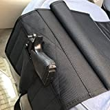 Adjustable Pistol Pocket Car Seat Holster,Not Applicable to Jeep and Large Cars, Black