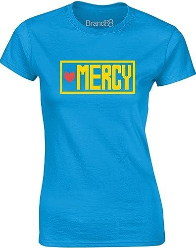 Brand88 - Choose Mercy, Señoras Impreso T-Shirt