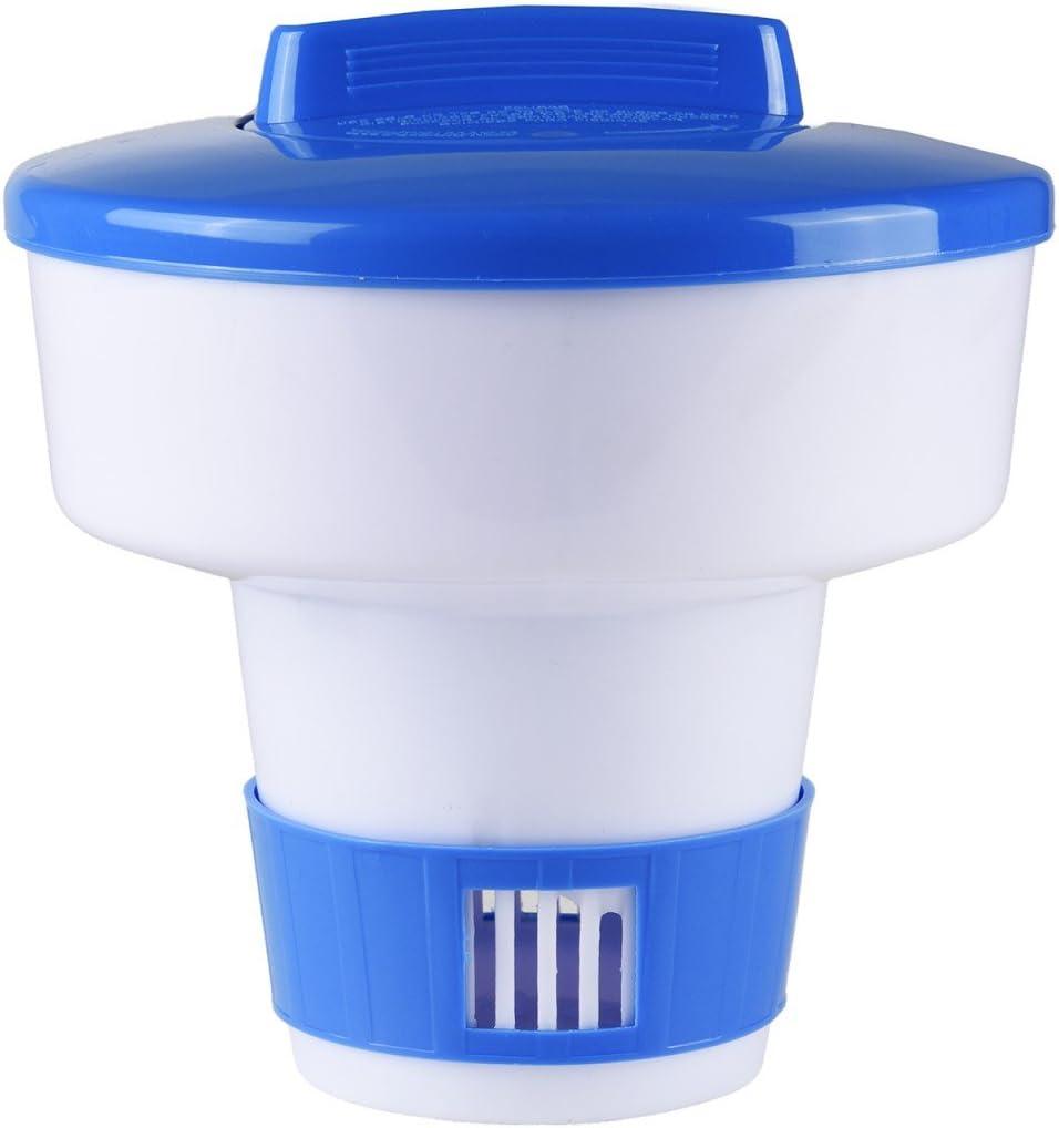 Dosificador flotador tipo boya para pastillas de cloro: Amazon.es ...