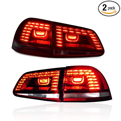 Car Tail Lights >> Amazon Com New Led Taillights Assembly For Volkswagen