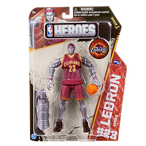 Cleveland Cavaliers Fans Scale Walls To Get Photos Of Nba: NBA Heroes Action Figure, LeBron James