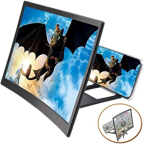 12 Zoll Bildschirmlupe Handy HD Projektion mit Lautsprecher Heimkino-Beamer Sale