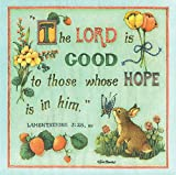 The Lord Is Good To Whose Hope Is In Him 20 Count 3-Ply Paper Luncheon Napkins Pack of 2