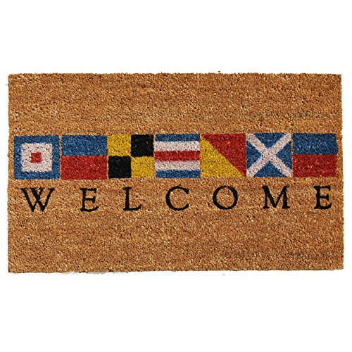 Home-More-121601729-Nautical-Welcome-Doormat-17-x-29-x-060-Multicolor