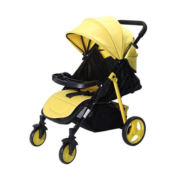 LZTET Silla De Paseo Cochecito De Bebé Sistema De Viaje Carros De Bebé Multifunción Carrocito De Bebé Carro Plegable Carro Portátil A Prueba De Choques ...