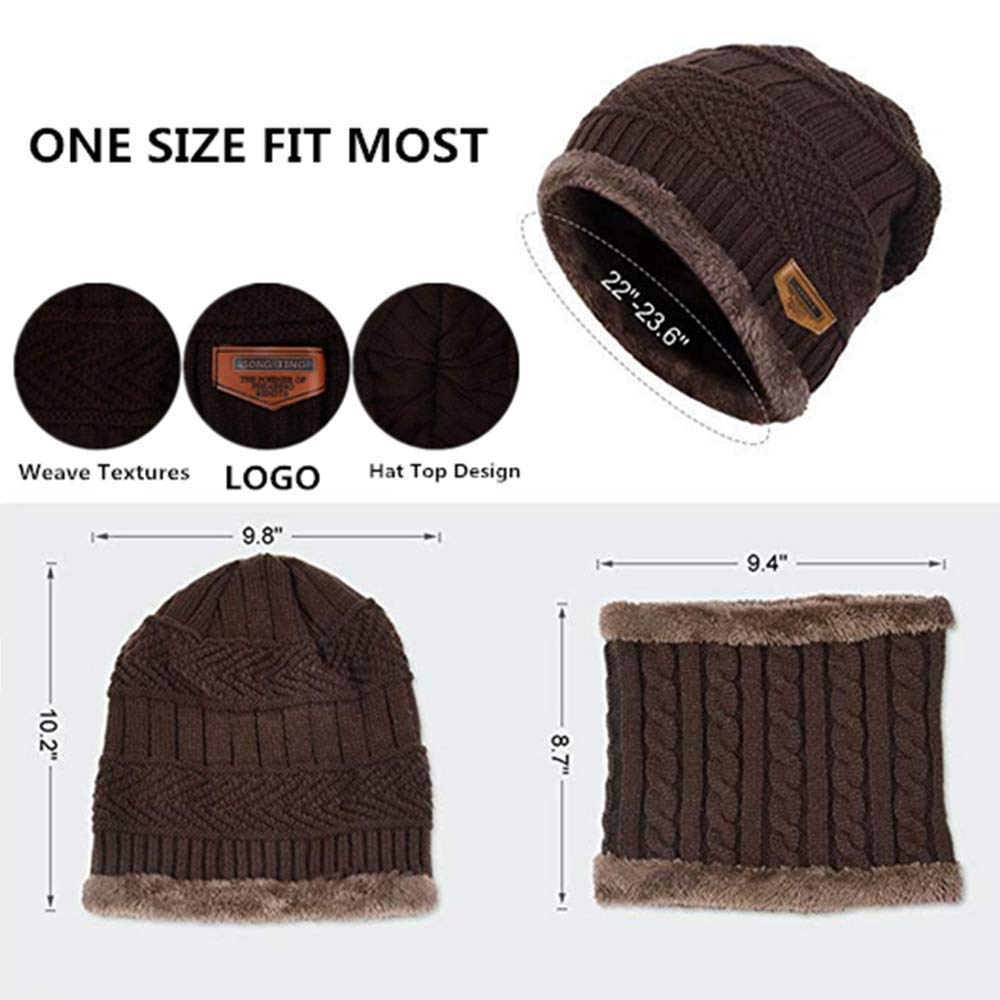 Men Women Balaclava Outdoor Sports Windproof Mask,Winter Ski Mask Hunting Hat w/Neck Warmer Wrap for Cold Weather Area (coffee) by YouZi (Image #5)
