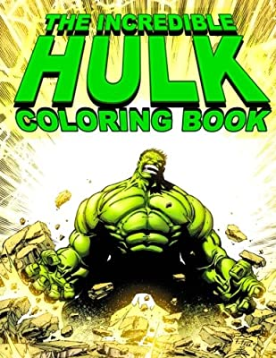 THE INCREDIBLE HULK Coloring Book
