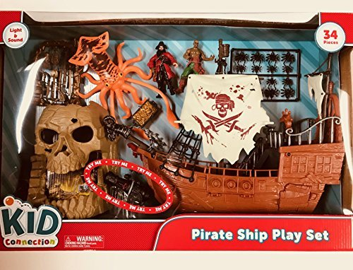 Pirate Ship Play Set by Kid Connection (Image #1)