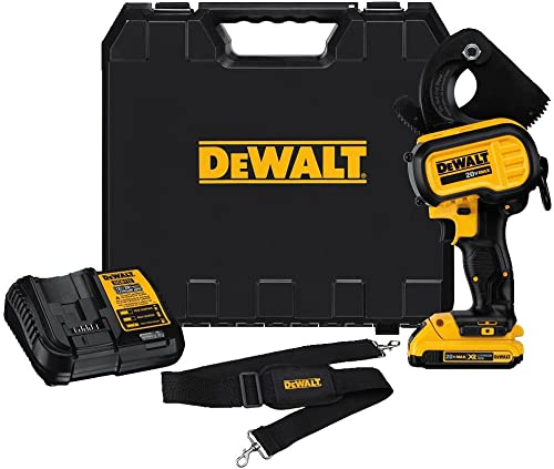 DEWALT 20V MAX Cable Cutter, Cordless Kit DCE150D1