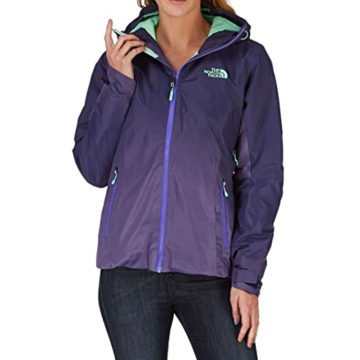 The North Face Women s Fuseform Dot Matrix Insulated Jacket Garnet Purple  Size Small 12a01ccf3