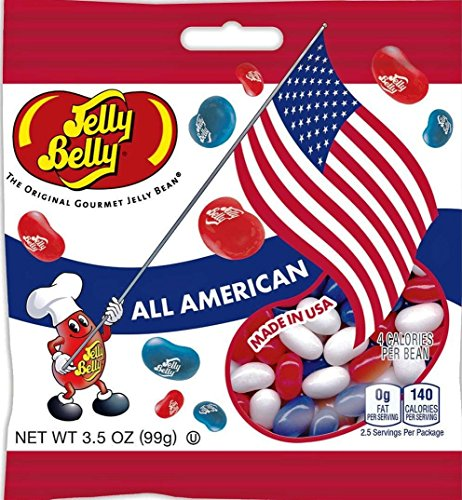 Jelly Belly Red. White & Blue All American Mix Jelly Beans 3