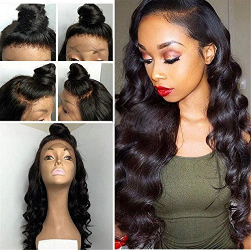 ATOZWIG Big Body Curly Synthetic Front Lace Wigs For Blac...