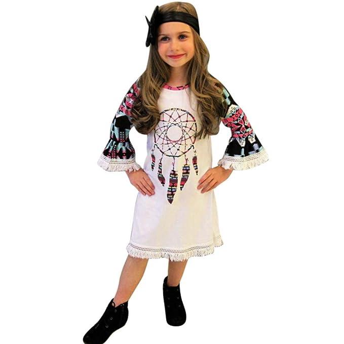 109ae86af43cd4 Kindermode Kinderkleidung Babymode Babykleidung Longra Mädchen Kleider  Kinder Kleider Festliche Baby Kinder Langarmshirts Windbell Druck Party