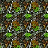 ZANheadgear BD238 Unisex-Adult Polyester Deluxe Bandanna with Forest Camo Graphics (Multicolor, 24'' x 24'')