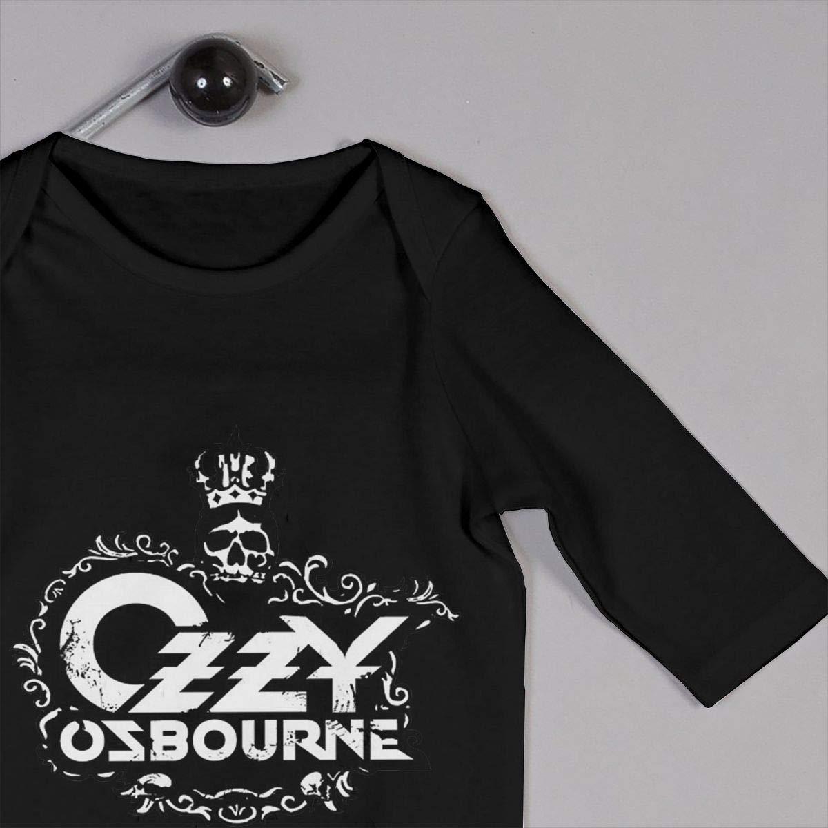 Ozzy Osbourne Long Sleeve Nursling Jumpsuit Cute Romper The Four Seasons Bodysuits