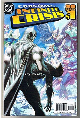 COUNTDOWN to INFINITE CRISIS #1, NM, Wonder Woman, 2005, Batman, Superman, GL