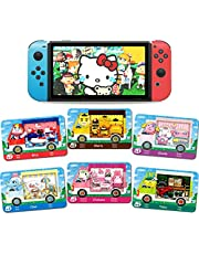 6 Pcs NFC Mini Cards for Sanrio Animal Crossing New Horizons Series 1-4 for Switch/Switch Lite/Wii U