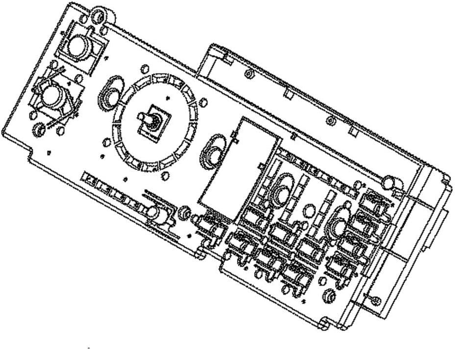 Ge WE04X29098 Dryer Electronic Control Board Genuine Original Equipment Manufacturer (OEM) Part
