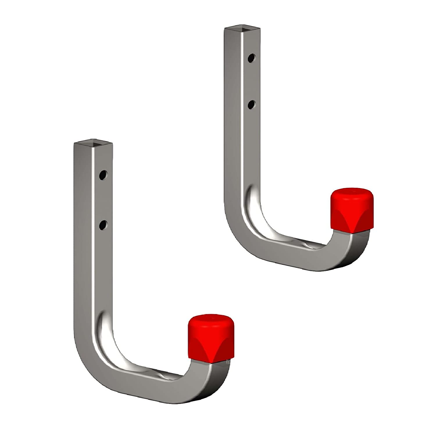 Garages Sheds Ladders /& Tools 2 x 80mm Storage Wall Hooks 45kg Galvanised Steel