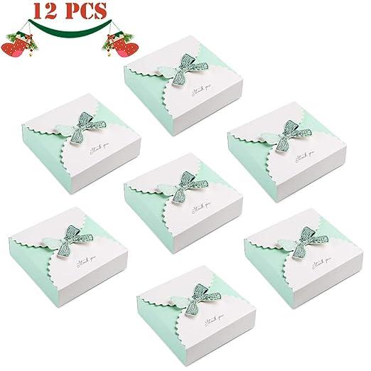 JoGoi 12pcs Cajas para Bombones Cajas para Dulces Colores ...