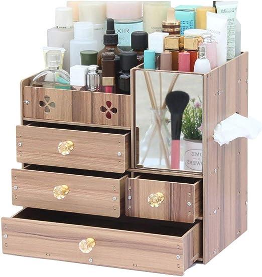 Speedmar - Cajas organizadoras de Madera para cosméticos/Caja de ...