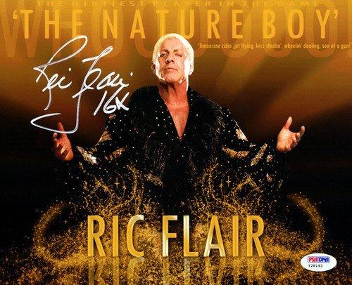 Ric Flair Signed 8x10 Photo WWE 16X - PSA/DNA Authentication - Sports Memorabilia