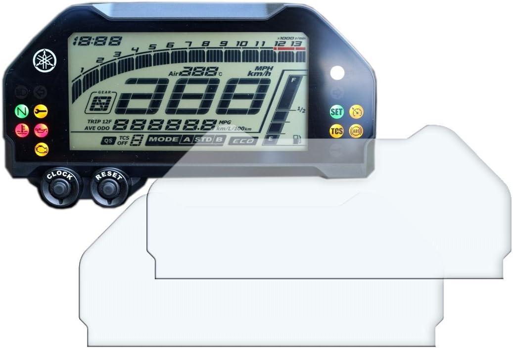 2x Yamaha Mt 10 Fz 10 Displayschutzfolie Tachoschutzfolie Screen Protector Ultra Clear Auto