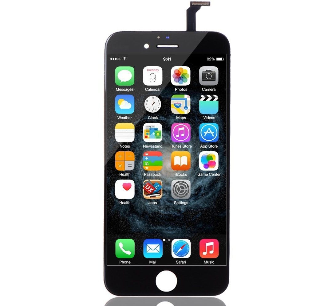 amazon com iphone 6 screen replacement black lcd premium