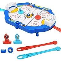Alomejor Mini Air Hockey Ajuste en una Mesa