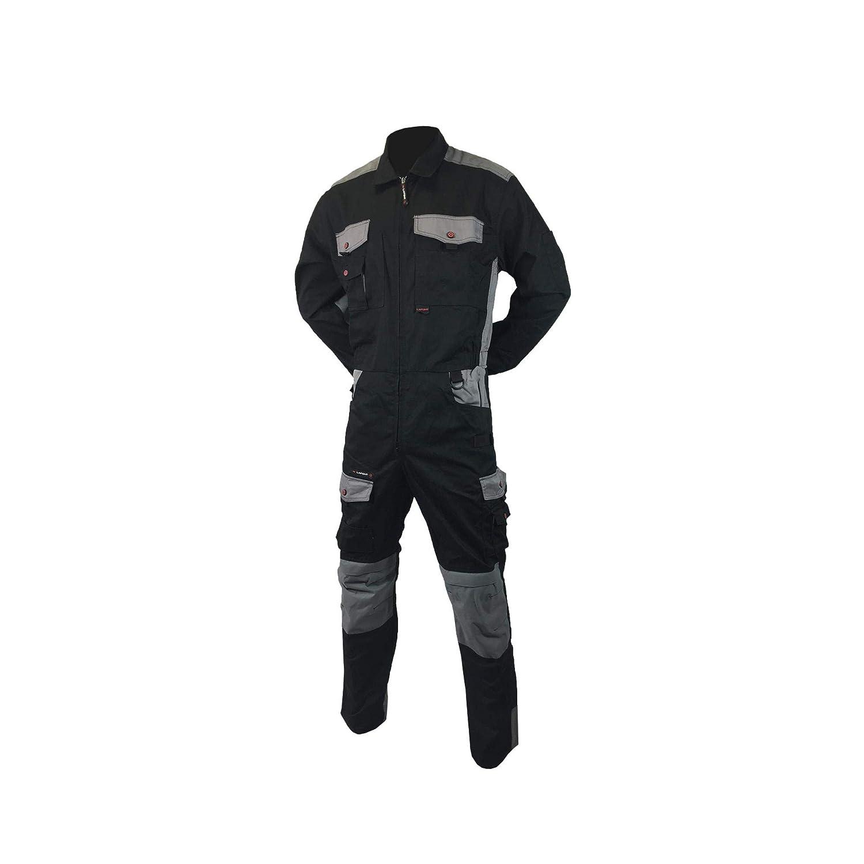 Taille 3 Noir et Gris Combinaison de Travail LAFONT Work Attitude