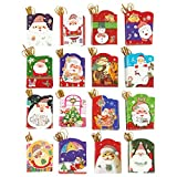 128-Count Christmas Gift Tags - Value Pack - Easy Access Packaging, Assorted Christmas Designs, 2.1 x 2.7 Inches
