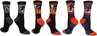 product image for MadSportsStuff Lacrosse Socks with Player on Camo Background Crew Socks (Multiple Colors)