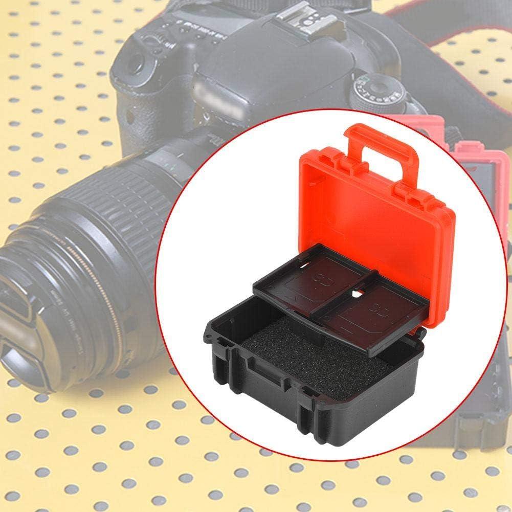 ABS Batterie de lappareil Photo Carte m/émoire CD Housse de Protection Contre la poussi/ère pour Canon P-E6 pour Nikon EN-EL15 Batterie Pomya Bo/îte de Rangement de la Batterie de lappareil Photo