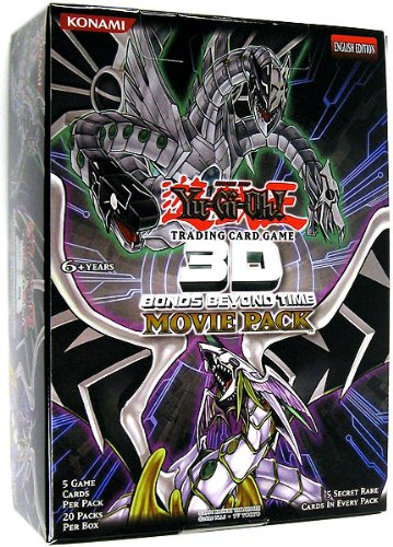 YuGiOh Movie Bonds Beyond Time Booster Box 20 Packs