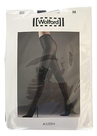 Wolford Womens Aileen (14485) Oak Tights Size Medium