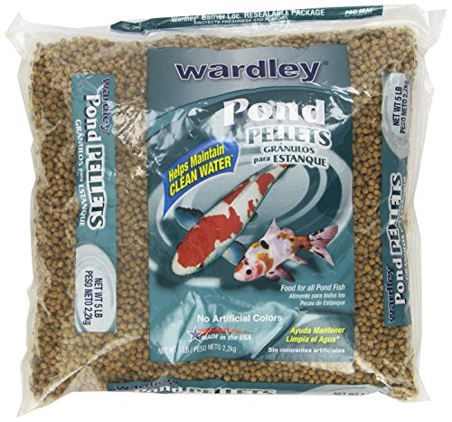 Hartz Wardley Pond Pellets, 5-Pound (Fish Food Koi compare prices)