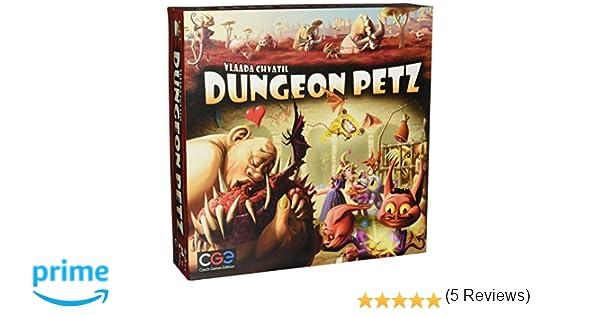 Czech Games Edition Dungeon Petz Board Game