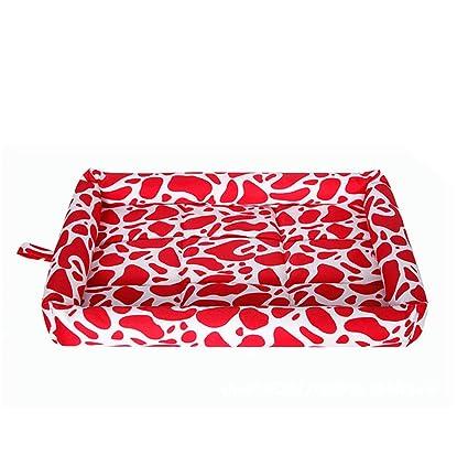 Yiuu Lujo Cat Dog Bed Pet Refrigeración Hielo Ice Mat Mat Cama, Perro Gato Verano