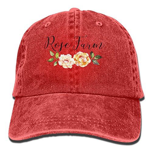 Dodgers Fan Costume (Rose Fans Cowboy Hat Adult Adjustable Printing)
