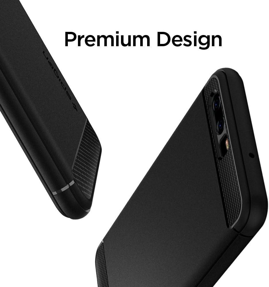 Spigen Rugged Armor Works with Huawei P10 Case (2017) - Black ...