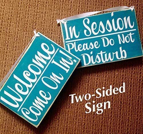 welcome sign hanging door sign custom sign wall art wood sign